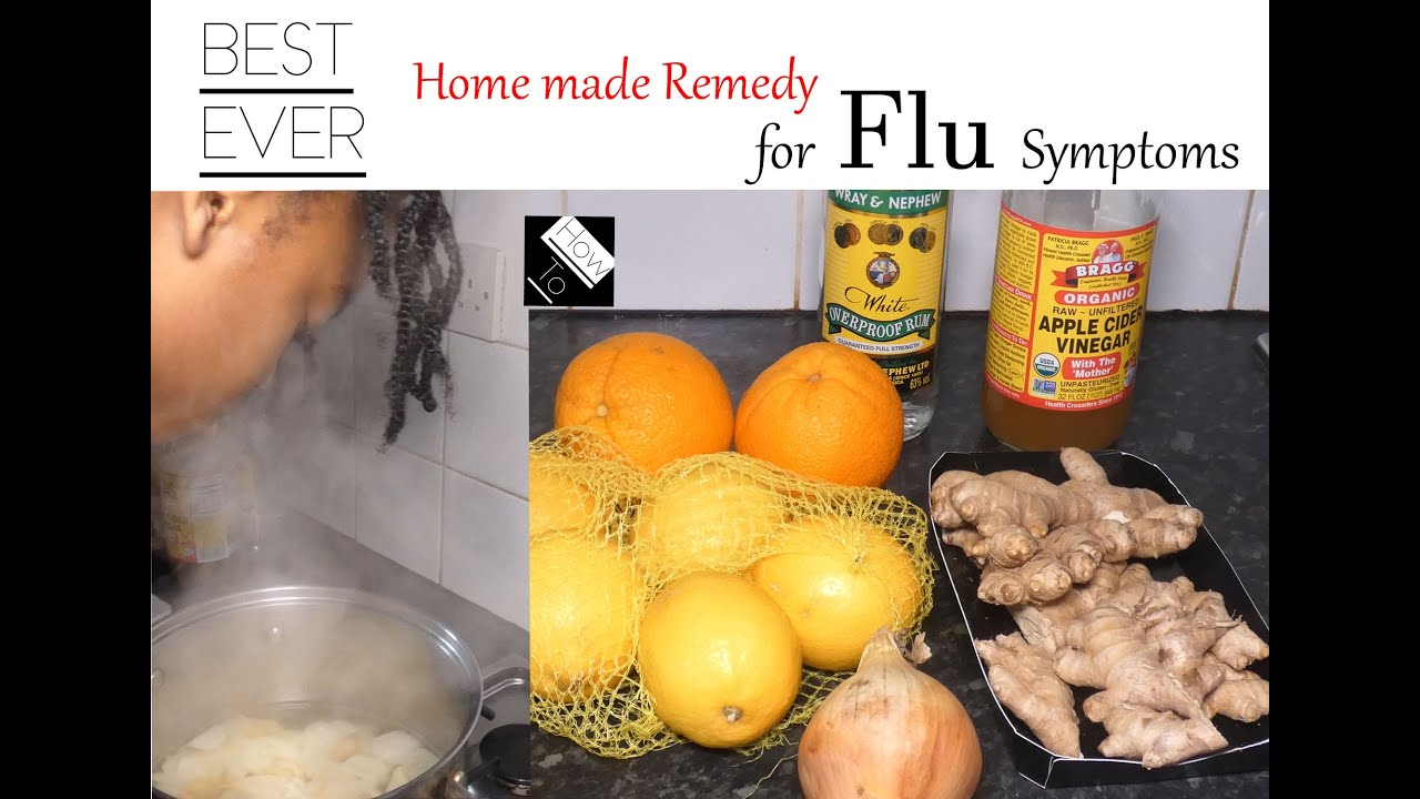 BEST! HomeMade Flu Remedy! PROTECT YOURSELF & LOVE ONES!