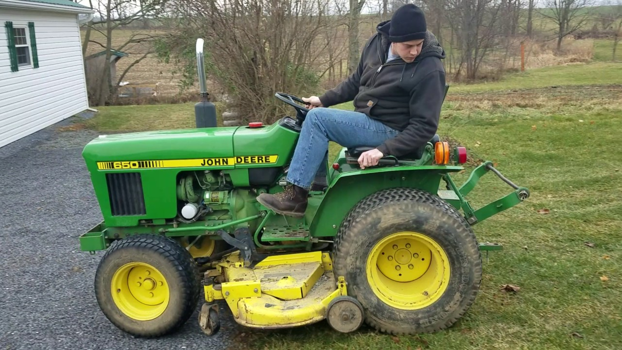 maxresdefault john deere 650 running and operating youtube