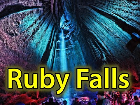 The Amazing Ruby Falls in Chattanooga Tennessee