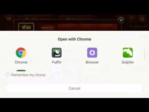 SMS payment with external browser