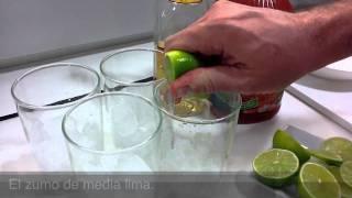 Clamato con Lima y Tequila