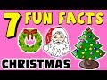 7 FUN FACTS ABOUT CHRISTMAS! FACTS FOR KIDS! Xmas! Santa! Reindeer! Learning Colors! Fun Sock Puppet