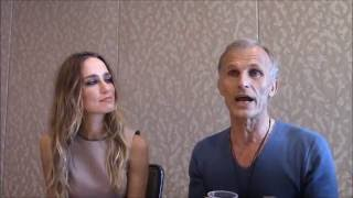 The Strain - Ruta Gedmintas, Richard Sammel Interview, Season 3 (Comic Con)