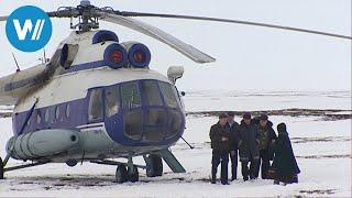 Sibirien - Polarflieger, die einzige Verbindung mit der Außenwelt