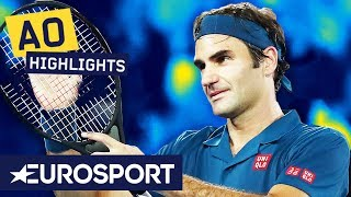 Roger Federer vs Taylor Fritz Highlights | Australian Open 2019 Round 3 | Eurosport