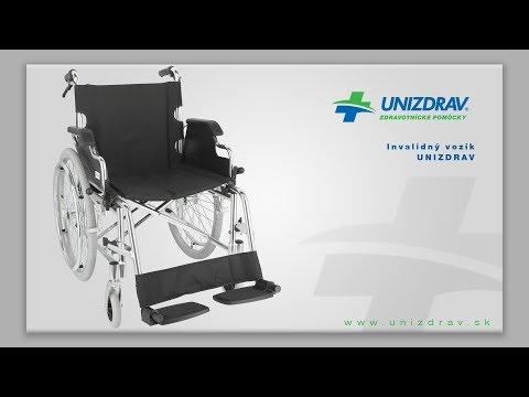 Invalidný vozík UNIZDRAV - VIDEOMANUÁL