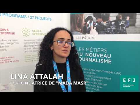 Interview Lina Attalah #4MPARIS