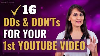What to Say in Your First YouTube Video
