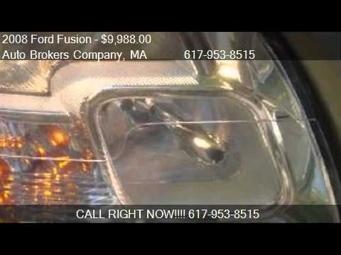 2008 Ford Fusion SE - for sale in Somerville, MA 02143