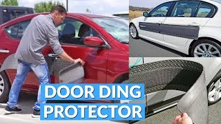 This Magnetic Car Mat Prevents Door Dings