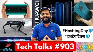 Tech Talks #903 - Redmi Note 8 Pro Display, Nokia 7.2, Huawei 6G, Whatsapp Memoji, Kirin 990 5G