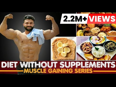 Diet without Supplements | Full Day DIET | Muscle Gaining Series