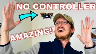 Best Drone Under $25 EVER! AWESOME Hand Gesture & Obstacle Avoidance - helifar H803 - TheRcSaylors