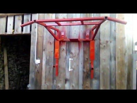 видео: Турник - брусья своими руками