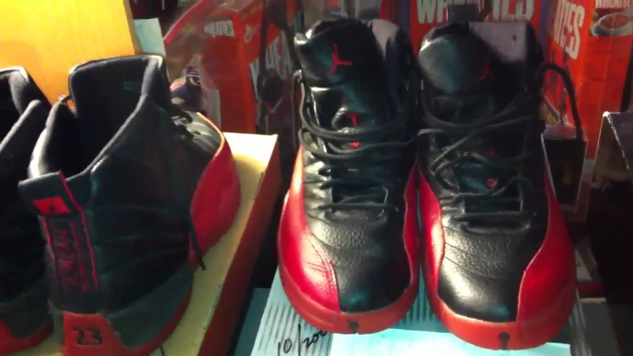52f416178fa 1997 AIR JORDAN OG 12 'Flu Game' and the Retro family. Kixpo2011 ...