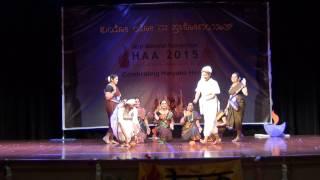 Munjaneddu Kumbaranna dance at HAA convention