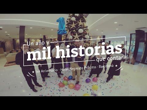 1er Aniversario · Hotel Negresco Princess · Barcelona