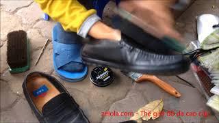 Kỹ thuật đánh giày da đường phố