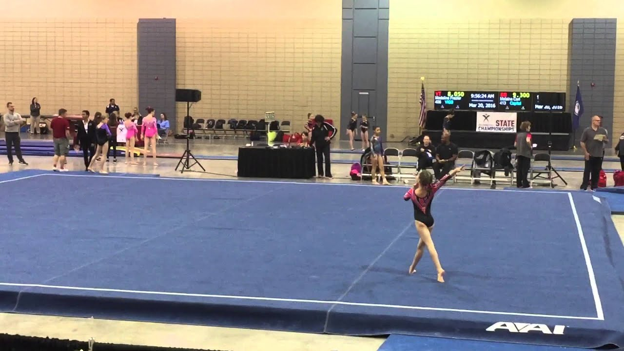 Reagan Davis Excalibur Gymnastics Floor Routine The