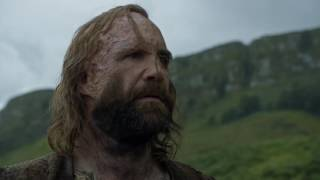 3.4.The Hound-Sandor Clegane Clip - Game of Thrones S06E07 權力的遊戲 Recap