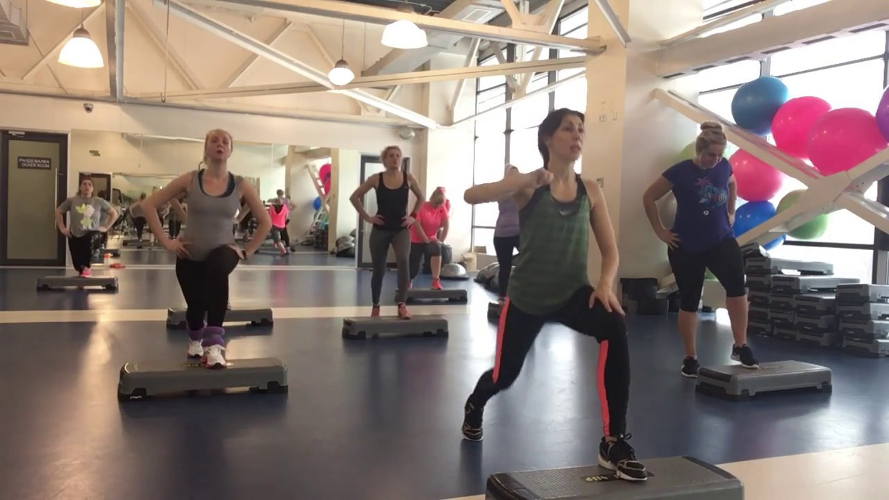 Упражнения на степ-платформе для похудения начинающим лучший.