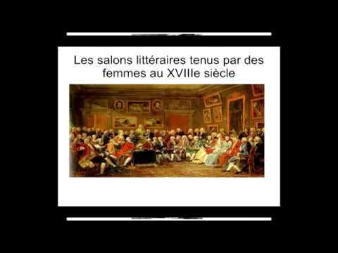 Les salons littéraires féminins au XVIIIe par Esat PEPOSI, professeur de lettres