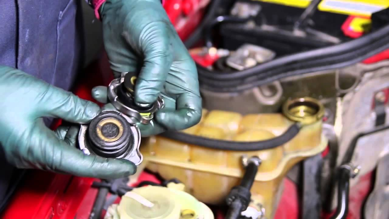 Fixing Problems with Mercedes Engine Coolant Reservoir Tanks - YouTube