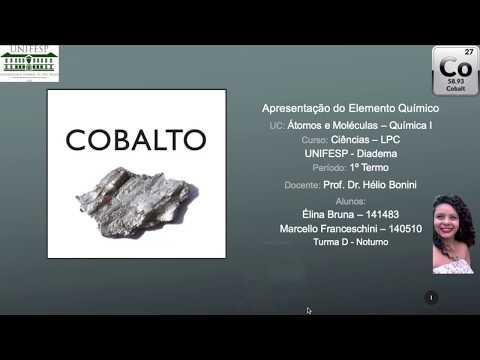 Cobalto - Apresentação Do Elemento Químico