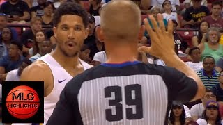 Josh Hart EJECTED from Game / LA Lakers vs Blazers Championship Game ...