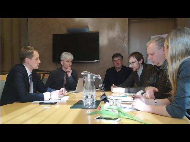 Susitikimas su Energetikos ministru - kaip bus valdomi miškai?  2019 03 08