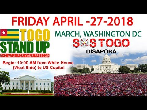 Togo Diaspora USA March April 27 2018 Washington DC