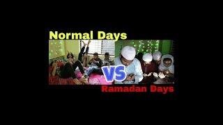 Normal Days VS Ramadan Days || Natok Koro || New Bangla Funny video 2018