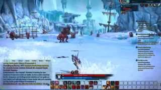 Tera Online Warrior The Head of the Serpent Level 42 Tempest Reach Gameplay