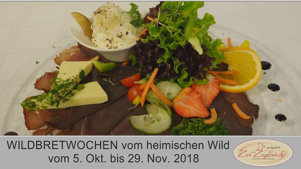 WILDBRETWOCHEN 2018 im Gasthaus Schiefer in Bad Kreuzen