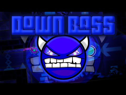 Down Bass Demon  Phantomech and Frostbolt  Geometry Dash