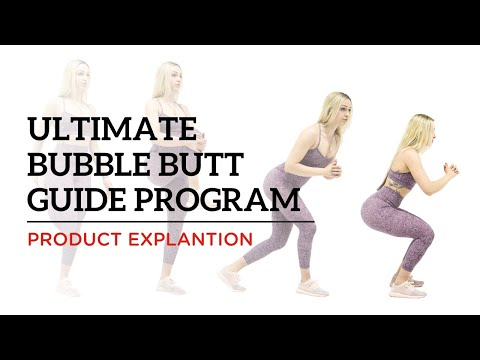 ultimate bubble butt guide 12 week program  your house