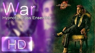 Repeat youtube video War - Hypnotic Brass Ensemble  [The Hunger Games - The Caesar Flickerman's show] HD