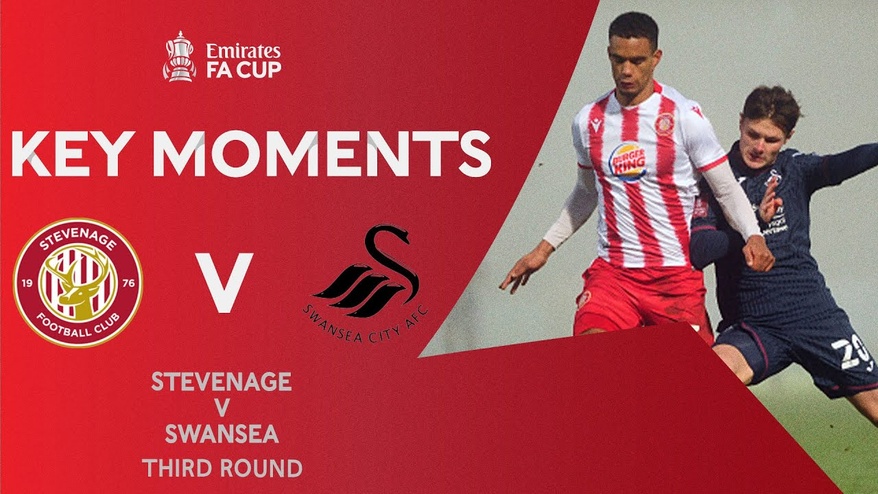 Stevenage v Swansea City | Key Moments | Third Round | Emirates FA Cup 2020-21