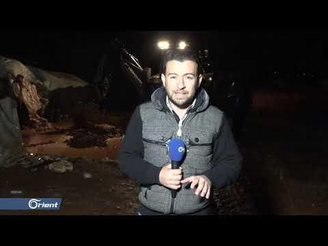 السيول تغرق مخيمات النازحين في الشمال السوري  - نشر قبل 13 ساعة