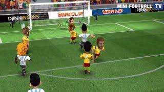 Mini Football match Italy 516 vs 561 Turkey many goals