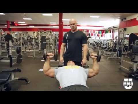 Ben Pakulski Teaches Chest Training for Hypertrophy with John - Part 2