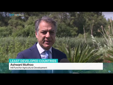 Interview with Ashwani Muthoo from International Fund for Agricultural Development on UN LDC summit