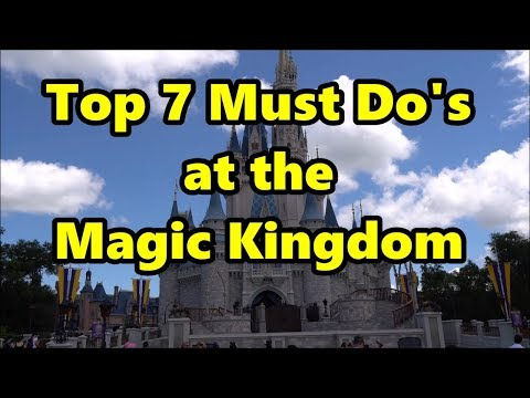 Must do at disney world