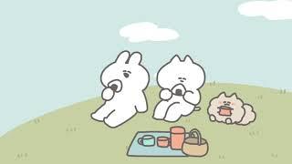 口の悪いうさちゃんアニメ「オープニング」 - YouTube