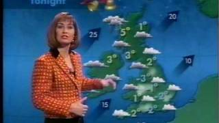 ITV National Weather - December 31st 1992