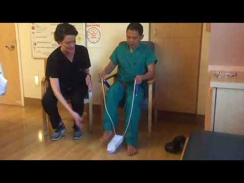 How To Put On Compression Stockings After Knee or Hip Replacement Surgery