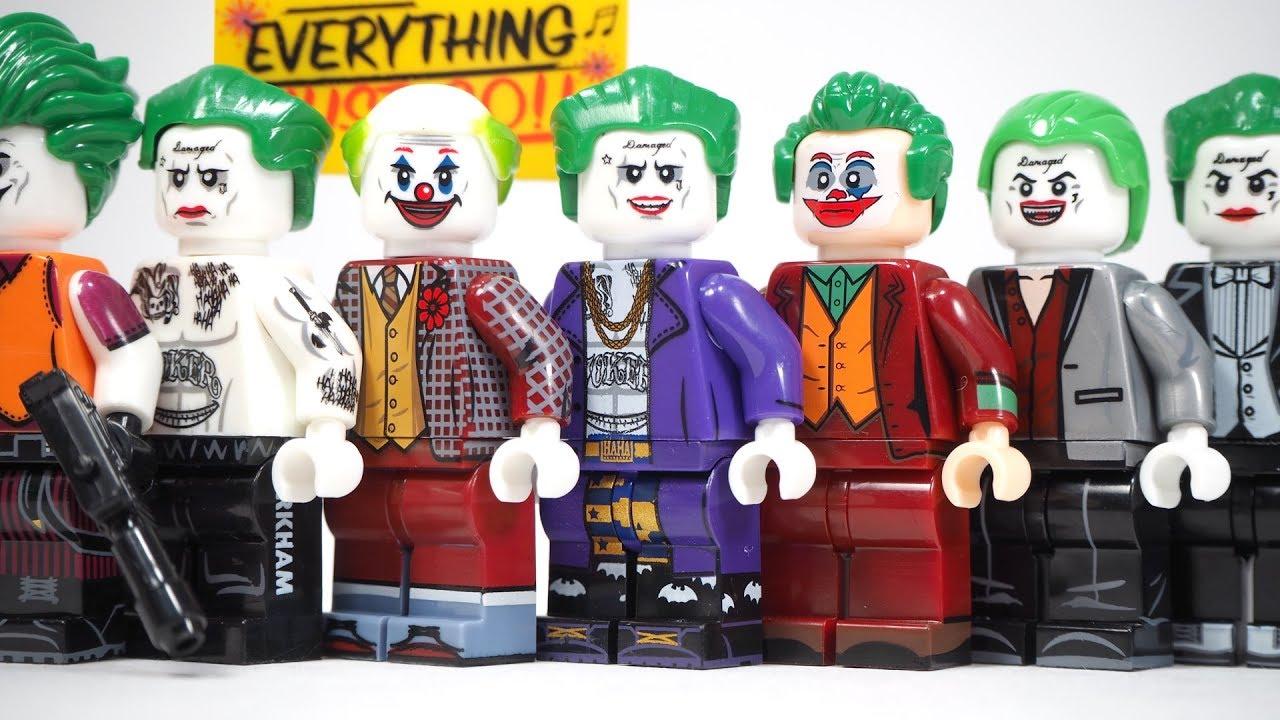 Download Lego Joker 2019 Everything Must Go Joker Suicide Squad DC Joker Unofficial Lego Minifigures