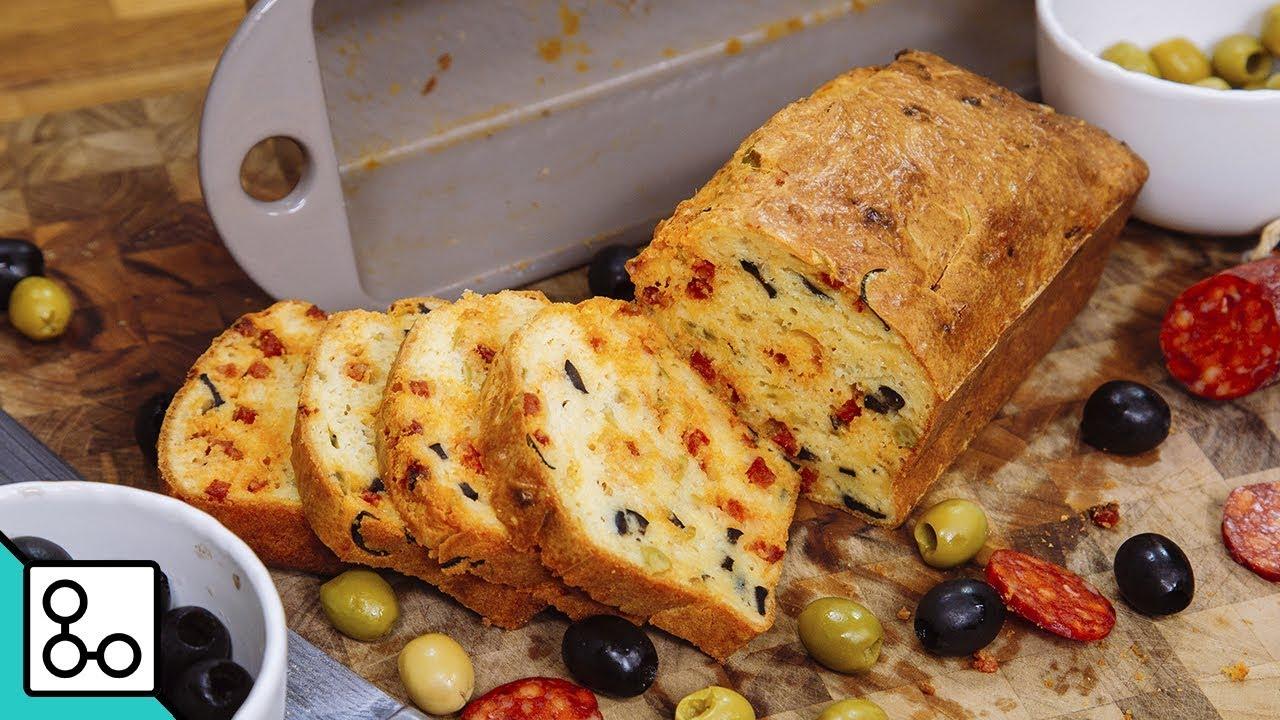 Cake aux olives & chorizo - YouCook