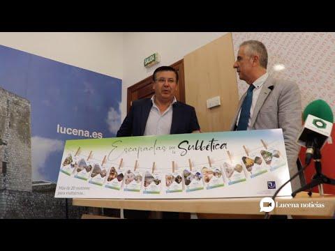 VÍDEO: Escapadas por la Subbética, un programa de 23 excursiones para conocer nuestros pueblos
