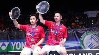 all england badminton 2017 sf marcus gideon kevin sanjaya sukamuljo vs mads conrad mads kolding